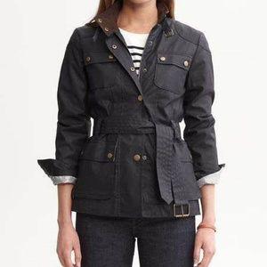 ca8c08d44 Banana Republic Jackets & Coats | Faux Fur Down Parka Preppy Navy ...